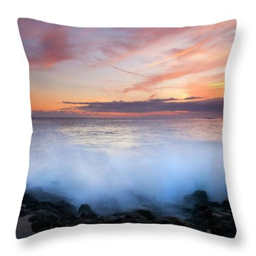 Tropical Explosion Throw Pillow by Mike  Dawson