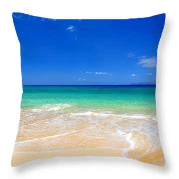 Tropical Fantasy  Throw Pillow