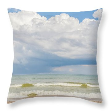 Tropical Heat Throw Pillow