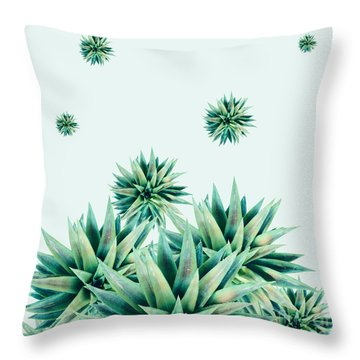 Tropical Stars  Throw Pillow