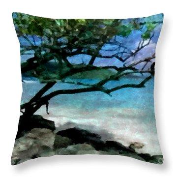 Tropical Utopia  Throw Pillow