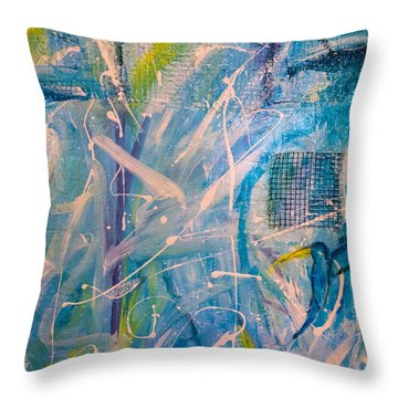 Tropicana Bird 02 Throw Pillow