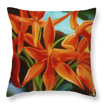 Tropicana Throw Pillow