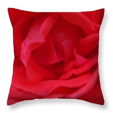 Tropicana Rose Throw Pillow by Robyn Stacey