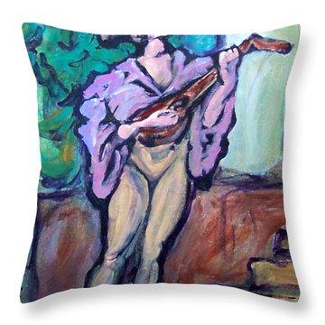 Troubadour Throw Pillow by Kevin Middleton