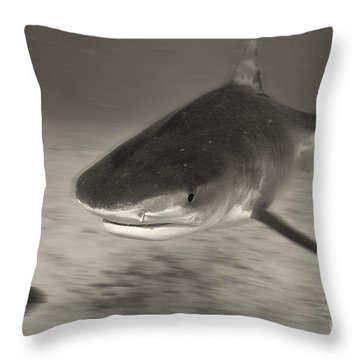 Throw Pillow featuring the photograph Troubled Water by Aaron Whittemore