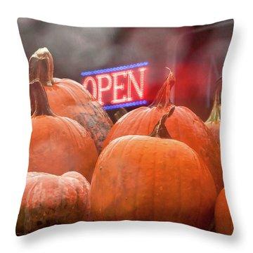 Trough The Window -  Throw Pillow