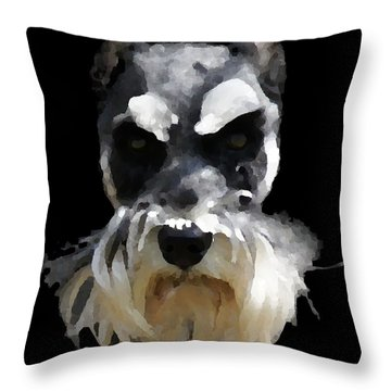 Troup Throw Pillow by David and Lynn Keller
