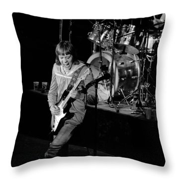 Trower At Winterland Throw Pillow by Ben Upham