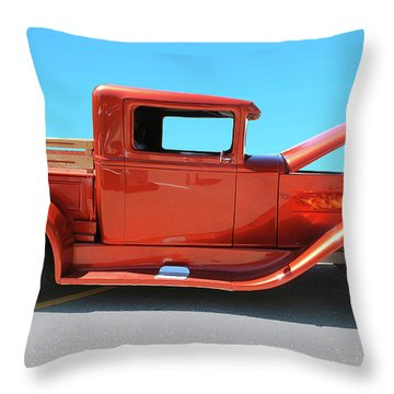 Truck #2 Throw Pillow