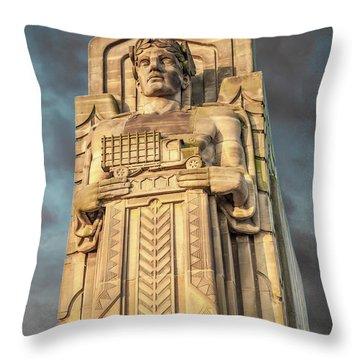 Truck Guardian Throw Pillow