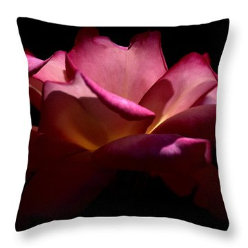 Throw Pillow featuring the photograph True Beauty by Lori Seaman