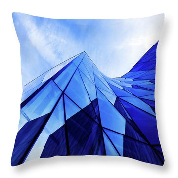Throw Pillow featuring the photograph True Blue by Stefan Nielsen