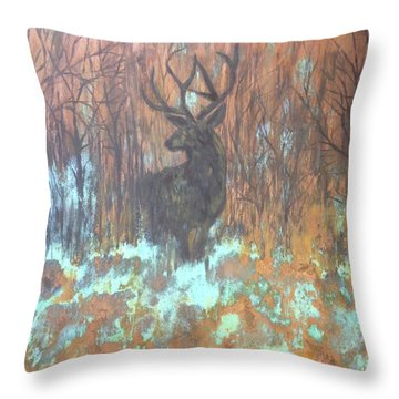 True Camouflage Throw Pillow