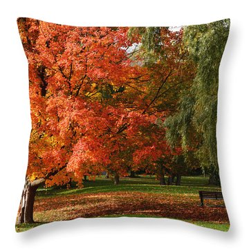 True Colours Throw Pillow