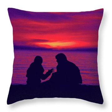 True Confessions Throw Pillow