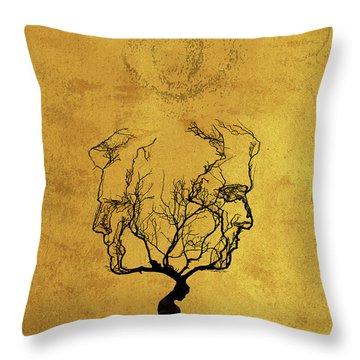 True Detective Tv Show  Throw Pillow