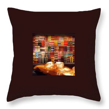 The Vision Of Chihuly  Throw Pillow