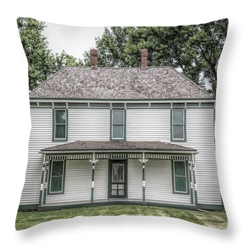 Truman Farm Throw Pillow