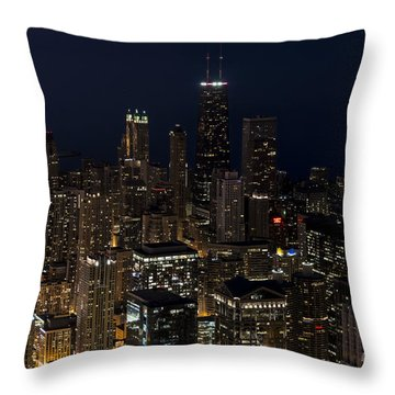 Trump Hotel Throw Pillow