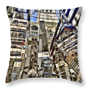 Trump International Hotel Throw Pillow by Lorella Schoales