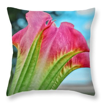 Trumpet Throw Pillow