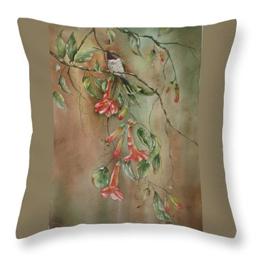 Trumpet Nectar Throw Pillow