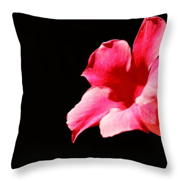 Throw Pillow featuring the photograph Trumpet by Richard Patmore