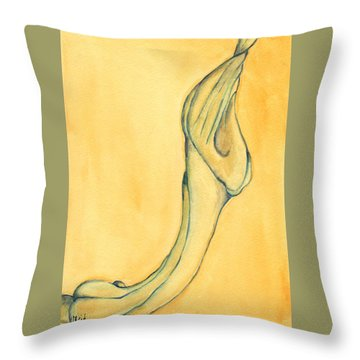 Trumpet Suspended Throw Pillow