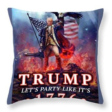 Trumpnado Throw Pillow