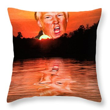 Trumpset 3 Throw Pillow