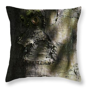 Trunk Knot Throw Pillow