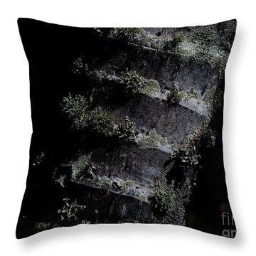 Trunk Moss Throw Pillow