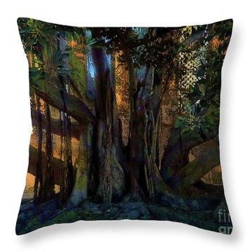 Trunks Throw Pillow by Robert Ball