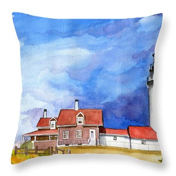 Truro Lighthouse Throw Pillow