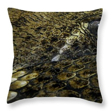 Trust In Me... Throw Pillow