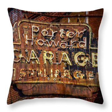 Throw Pillow featuring the photograph Trust In Rust by Linda Unger