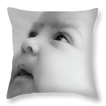 Trust Of A Child Throw Pillow