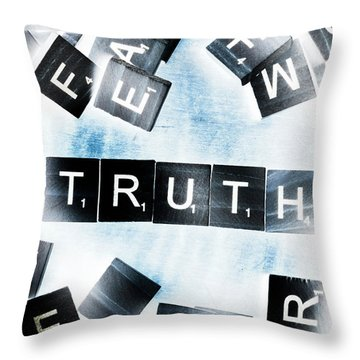 Truth Inverted Throw Pillow