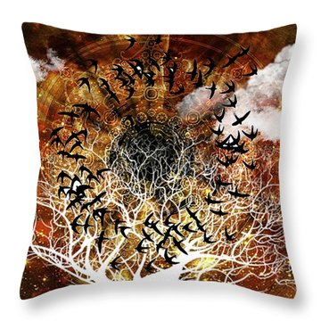 Try Everything Throw Pillow