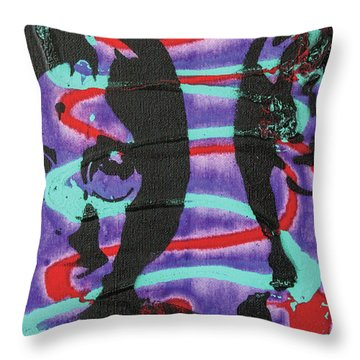 Trying To Change The Whole Wide World Throw Pillow