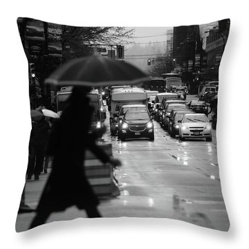 Trying To Stand Out  Throw Pillow by Empty Wall
