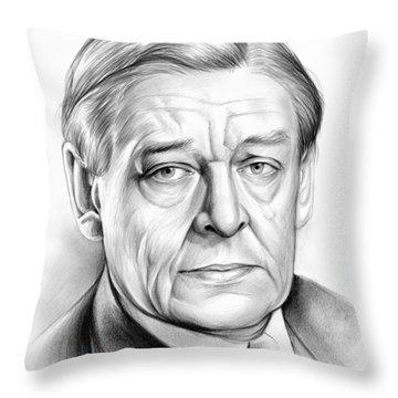 Ts Eliot Throw Pillow by Greg Joens
