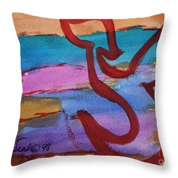 Tsade Throw Pillow
