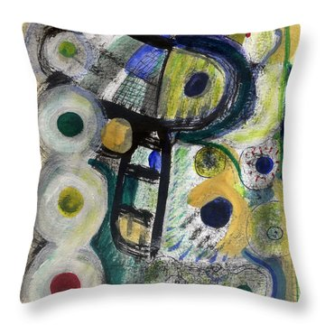 A Perfect Cloudy Day Throw Pillow