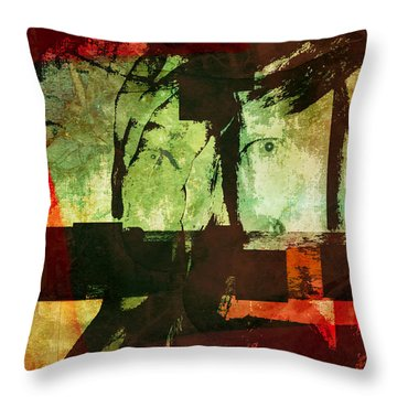 Reality, Illusion, And Perception Throw Pillow