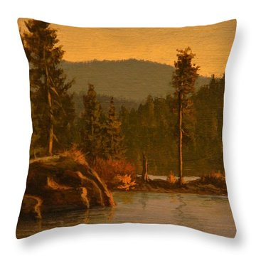 Tubbs Hill 2017 Throw Pillow