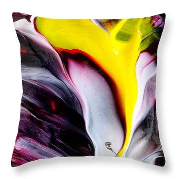 Tublar Rose Throw Pillow