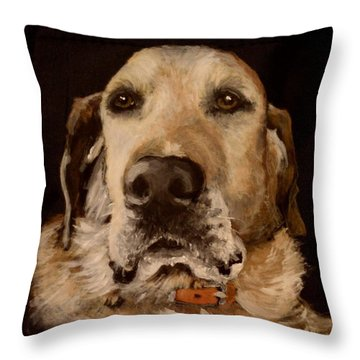 Tucker 2 Throw Pillow