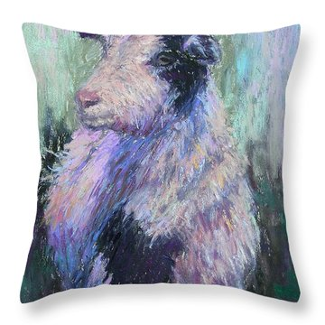 Tucker Redux Throw Pillow by Susan Williamson